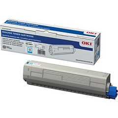 Okidata 44844511 Cyan Toner Cartridge