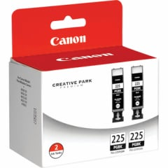Canon PGI-225 Pigment Black Twin Pack