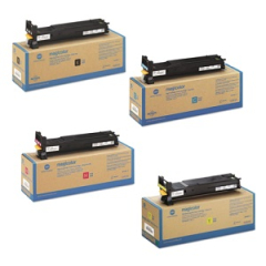 Konica Minolta 4600 Toner Cartridge Set