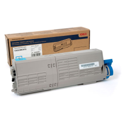 Okidata 46490503 Cyan Toner Cartridge
