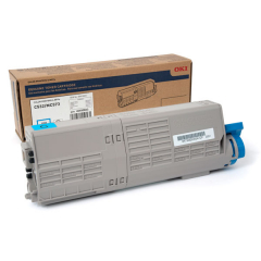 Okidata 46490603 Cyan Toner Cartridge