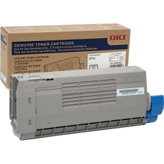 Oki 46507604 Black Toner Cartridge