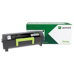 Lexmark 50F1H00 Black Toner Cartridge