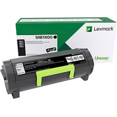 Lexmark 51B1X00 Black Toner Cartridge