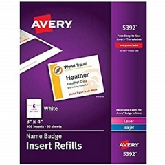Avery 5392 Labels