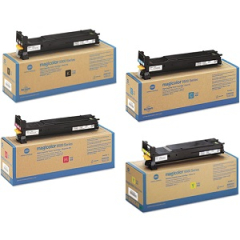 Konica Minolta 5500 Toner Cartridge Set