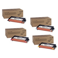 Xerox 6280 High Yield Toner Cartridge Set