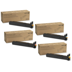 Xerox 6400 Toner Cartridge Set