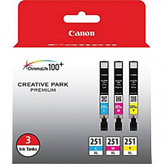 Canon CLI-251XL Color Value Pack