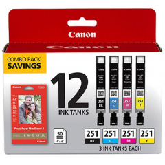 Canon CLI-251 Combo Pack