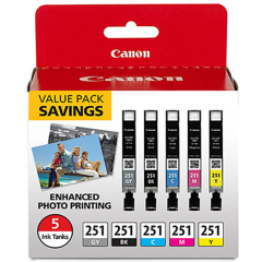 Canon CLI-251 Value Pack