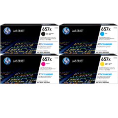 HP 657X Toner Cartridge Set