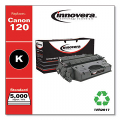 Innovera Black Toner Cartridge, Replacement for Canon 120 (2617B001), 5,000 Page-Yiel