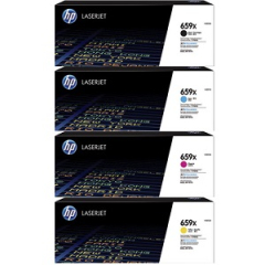 HP 659X Toner Cartridge Set