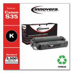 Innovera Black Toner Cartridge, Replacement for Canon S35 (7833A001AA), 3,500 Page-Yi