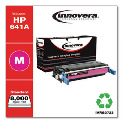Innovera Magenta Toner Cartridge, Replacement for HP 641A (C9723A), 8,000 Page-Yield