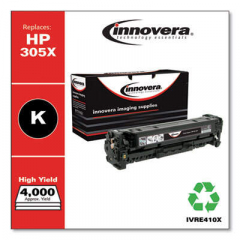 Innovera 305X (CE410X) High-Yield Black Toner Cartridge
