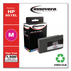 Innovera Magenta High-Yield Ink, Replacement for HP 951XL (CN047AN), 1500 Page Yield