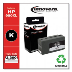 Innovera Black High-Yield Ink, Replacement for HP 950XL (CN045AN), 2300 Page Yield (9