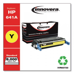 Innovera Yellow Toner Cartridge, Replacement for HP 641A (C9722A), 8,000 Page-Yield (