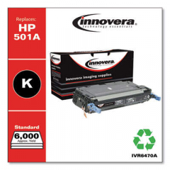 Innovera 501A (Q6470A) Black Toner Cartridge