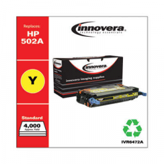Innovera 502A (Q6472A) Yellow Toner Cartridge