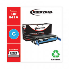 Innovera Cyan Toner Cartridge, Replacement for HP 641A (C9721A), 8,000 Page-Yield (83