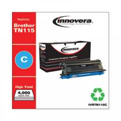 Innovera TN115C High-Yield Cyan Toner Cartridge