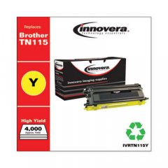 Innovera TN115Y High-Yield Yellow Toner Cartridge