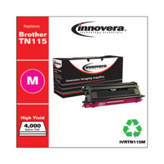 Innovera TN115M High-Yield Magenta Toner Cartridge