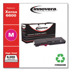 Innovera Magenta High-Yield Toner Cartridge, Replacement for Xerox 6600 (106R02226),