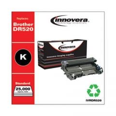 Innovera Black Drum Unit, Replacement for Brother DR520, 25,000 Page-Yield