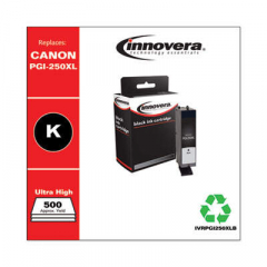 Innovera PGI-250XL (6432B001) High-Yield Black Ink Cartridge