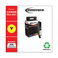 Innovera CLI-251 (6516B001) Yellow Ink Cartridge