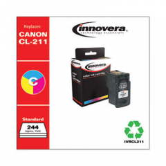 Innovera CL-211 (2976B001) Tri-Color Ink Cartridge