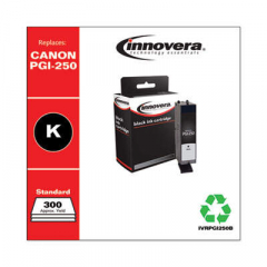 Innovera PGI-250B (6497B001) Black Ink Cartridge