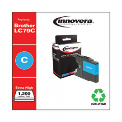 Innovera LC79C Extra High-Yield Cyan Ink Cartridge