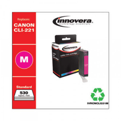Innovera Magenta Ink, Replacement For Canon CLI-221M (2948B001), 530 Page Yield (CNCL