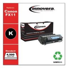 Innovera Black Toner Cartridge, Replacement for Canon FX11 (1153B001AA), 4,500 Page-Y