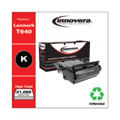 Innovera T630 (12A7362) High-Yield Black Toner Cartridge