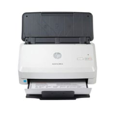 HP ScanJet Pro 2000 s2 Sheet-Feed Scanner, 600 dpi Optical Resolution, 50-Sheet Duplex Auto Document
