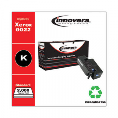 Innovera Black Toner Cartridge, Replacement for Xerox 6022 (106R02759), 2,000 Page-Yi