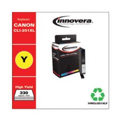 Innovera CLI-251XL (6451B001) High-Yield Yellow Ink Cartridge