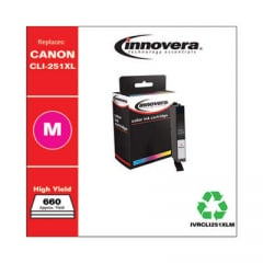 Innovera CLI-251XL (6450B001) High-Yield Magenta Ink Cartridge