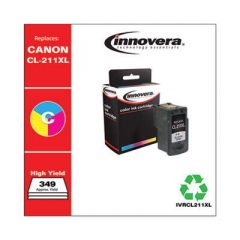 Innovera CL-211XL (2975B001) High-Yield Tri-Color Ink Cartridge