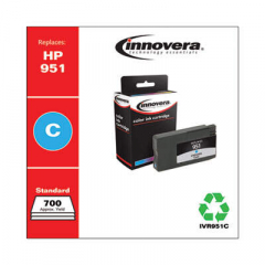 Innovera Cyan Ink, Replacement For HP 951 (CN050AN), 700 Page Yield (951C)