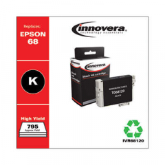 Innovera 68 (T068120) High-Yield Black Ink Cartridge