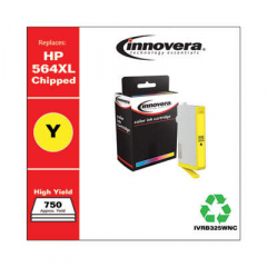 Innovera Yellow High-Yield Ink, Replacement For HP 564XL (CB325WN), 750 Page Yield (B