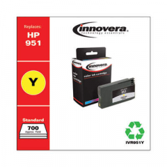Innovera Yellow Ink, Replacement For HP 951 (CN052AN), 700 Page Yield (951Y)