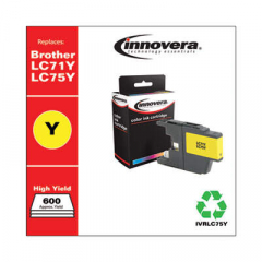 Innovera LC75Y High-Yield Yellow Ink Cartridge